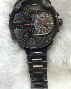 Relógio Masculino Original Diesel 3ba Maquinário
