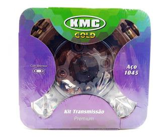 Kit Relação Transmissão Titan 150 Ate 2015 Kmc C/ret 1045