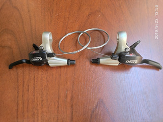 Shifter Y Frenos Shimano Deore St-m530 Dual Control + Cable