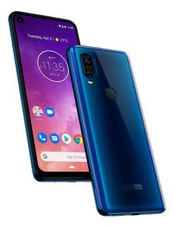 Celular Motorola One Vision Tela Trincada
