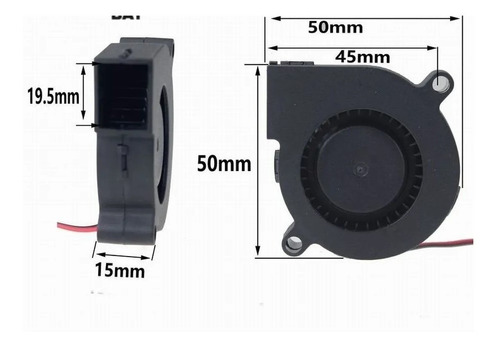 Turbo Ventilador 5015 24v