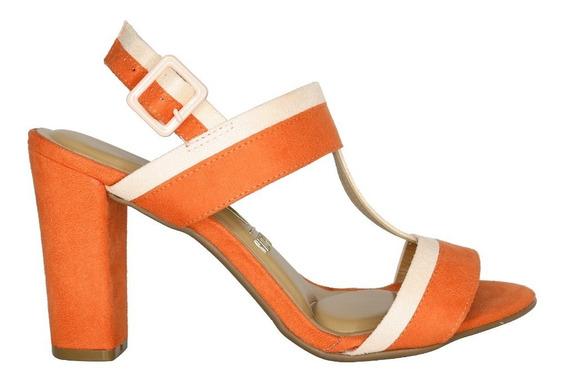 Sandalia De Mujer Gamuza Vizzano Varios Colores 6410