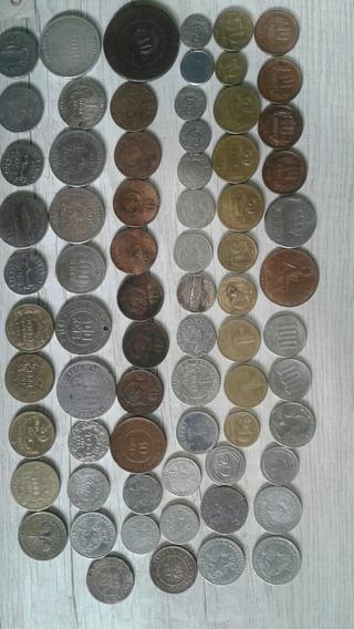 Coleção De Moedas E Cédulas Antigas E Estrangeiras (dolar)