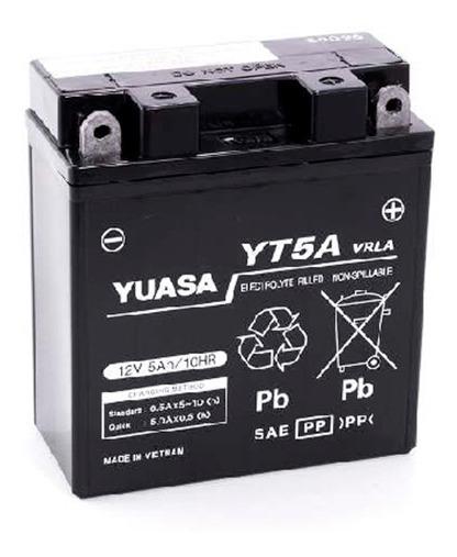Batería Moto Yuasa Yt5a Zanella Zb 110 05/20