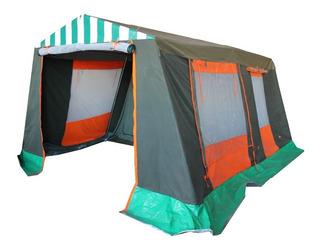 Carpa Estructural Comedor 2 Dormitorios 3x4m Nahuel Camping