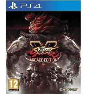 Street Fighter V Arcade Edition Ps4 Fisico