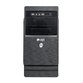 Computador Completo Login Core I3 8gb 500gb Com Linux