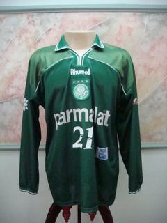 Camisa Futebol Palmeiras São Paulo Rhumell Jogo Antiga 2237
