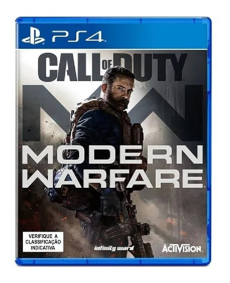 Call Of Duty: Modern Warfare Ps4 Totalmente Português