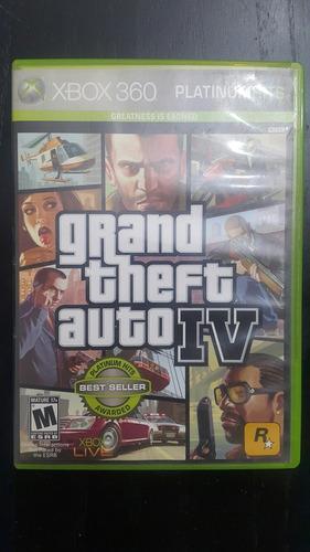 Juego Gta 4 Xbox 360 Tienda Xbox One Almagro