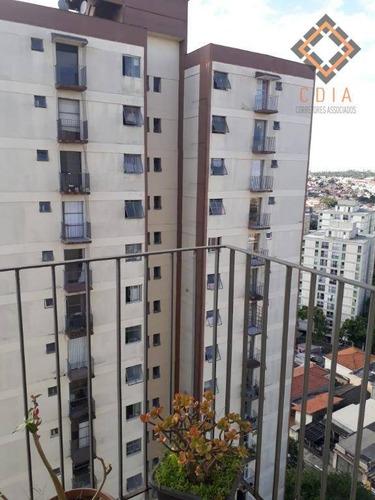 Apartamento Com 2 Dormitórios À Venda, 55 M² Por R$ 310.000,00 - Vila Campestre - São Paulo/sp - Ap51469