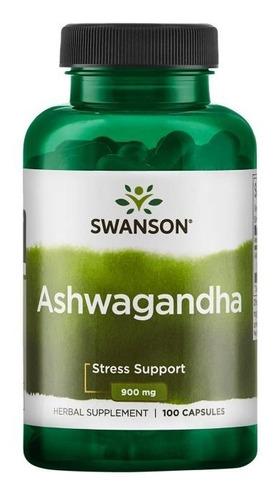 Ashwagandha 450 Mg 100 Cáps Adaptogeno Medicina Ayurvedica