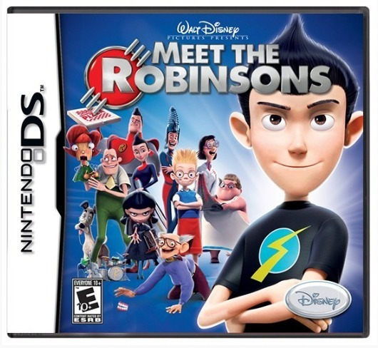 Meet The Robinsons Ds Mídia Física Usado