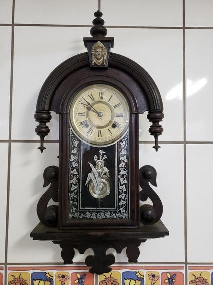 Relógio Parede Ansonia De Parede Maria Antonieta Funcionando