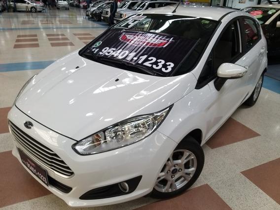 New Fiesta Se 1.5 Flex Completo + Couro