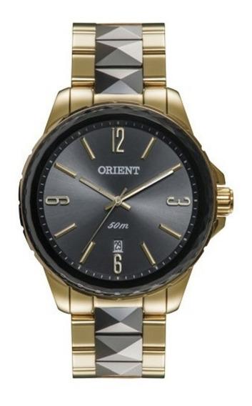 Relógio Orient Feminino Ftss1082 G2ks Dourado Preto