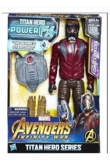 Avengers Infinity War Titan Herói Da Série Power Fx Star-lor