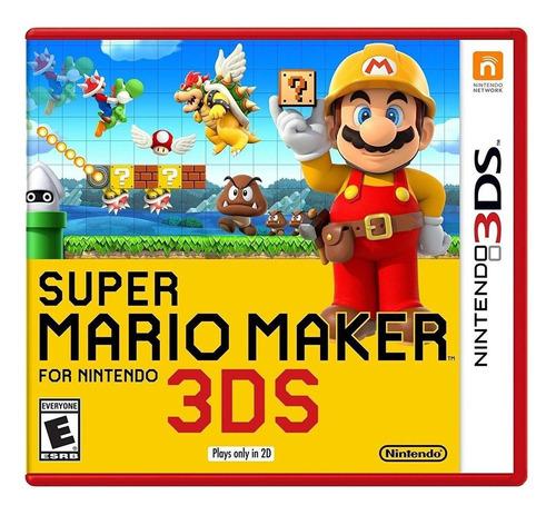 Imagen 1 de 3 de Mario  Super Mario Maker Nintendo 3DS  Físico