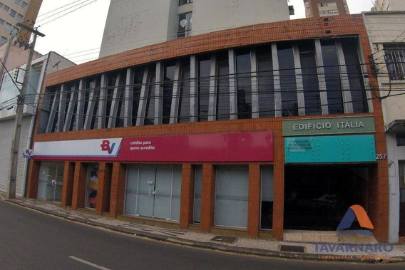 Conjunto Para Alugar, 397 M² Por R$ 3.000/mês - Centro - Ponta Grossa/pr - Cj0012