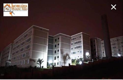 Imagem 1 de 10 de Apartamento Com 2 Dormitórios À Venda, 47 M² Por R$ 220.000,00 - Vila Alzira - Guarulhos/sp - Ap1797