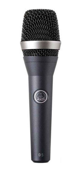 Microfone Akg D5 Supercardióide Dinâmico Profissional