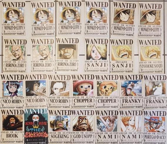 One Piece Wanted Todas Las Recompensas Antiguas Y Actuales