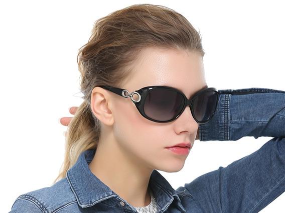 Gafas Oversized Oscuras Degradado - Elegantes Y Modernas
