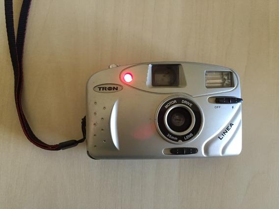 Máquina Fotografica Tron Linea Funcionando Câmera Foto