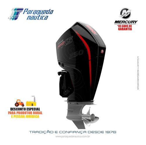 Motor De Popa Mercury 4 Tempos 250hp L Pro Xs Mecânico