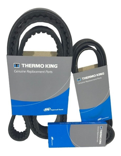 Imagem 1 de 6 de Kit Correias Thermo King Original T1080r