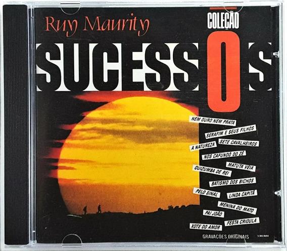 Cd - Ruy Maurity - Sucessos - Lacrado