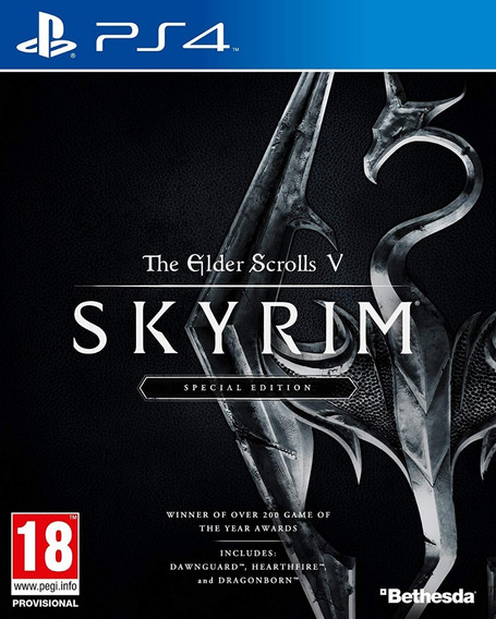 Mídia Física The Elder Scrolls V Skyrim Ps4 - Novo E Lacrado