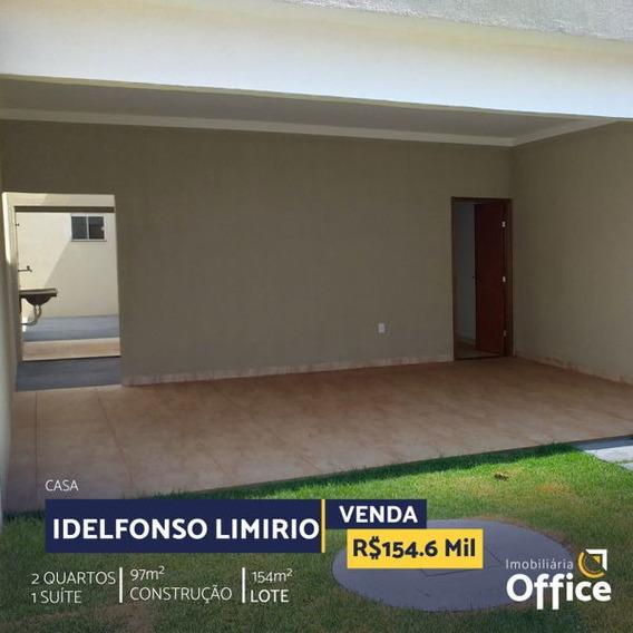 Casa Térrea Com 2 Quartos - Off377-v