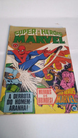 Super-heróis Marvel Nº 6 - Dez/79 Ediora Rge