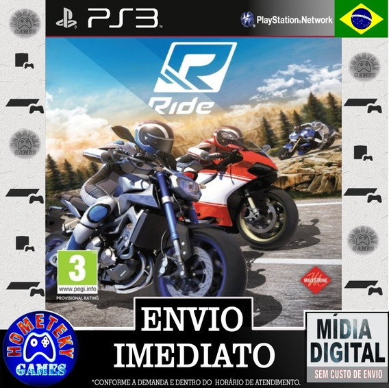 Ride - Psn Ps3 Português Br Play 3