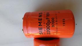 Lote 20 Capacitor Siemens 22000uf X 15v Usado