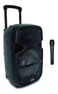 Bafle Potenciado 12 Global 50 Watts Bluetooth Mp3 Karaoke