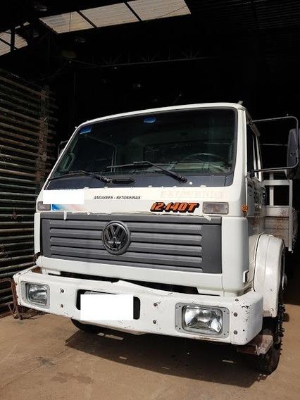 Caminhão Vw 12140 T Carroceria De Ferro