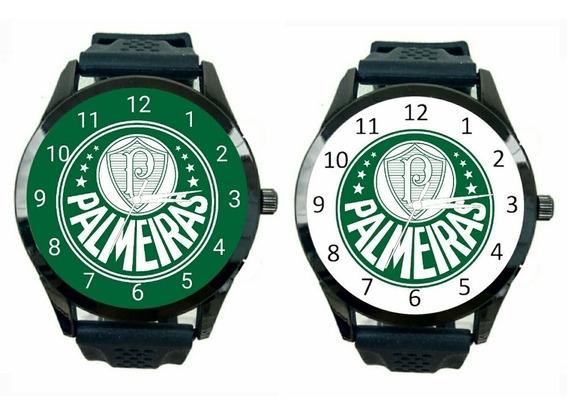 Palmeiras Kit 2 Relógios Masculino Promoção Oferta Time T235