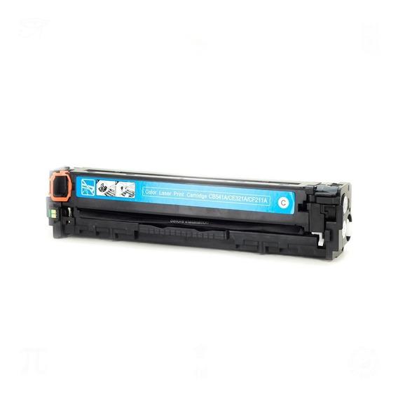 Toner Compativel Com Hp Cb541a Cf211a Ce321a Ciano 1.4k
