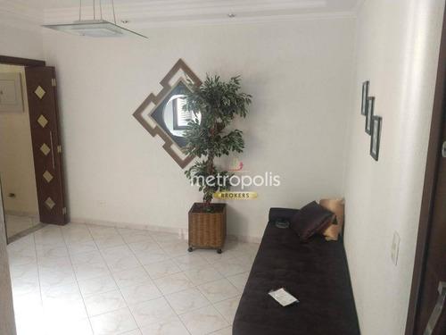 Imagem 1 de 15 de Apartamento Com 3 Dormitórios À Venda, 96 M² Por R$ 480.000,00 - Vila Camilópolis - Santo André/sp - Ap6402