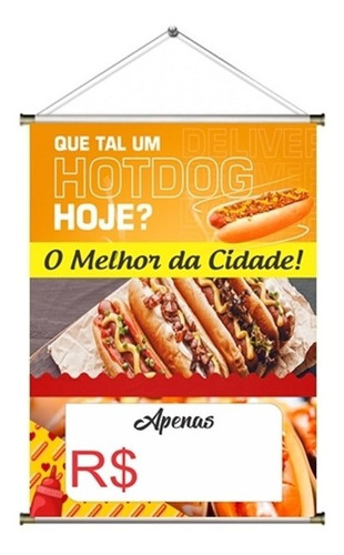 Banner Pronto Hot Dog