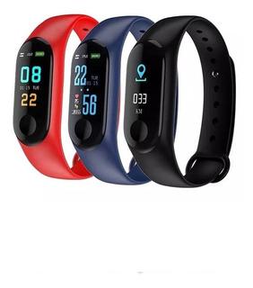 Reloj Smart Watch Pulsera Ritmo Cardiaco Presion Art Colores