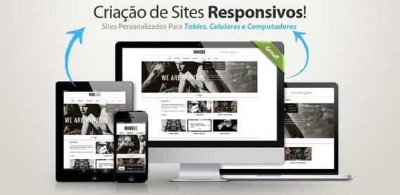 Criação De Site Responsivo - Plano Business Anual