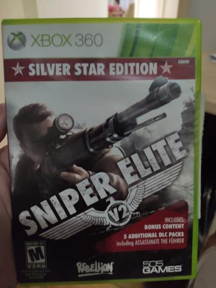 Jogo Sniper Elite V2 Xbox360 Ntsc Em Dvd Original