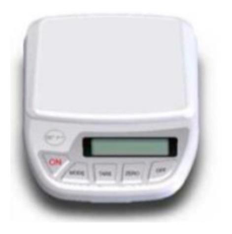 Balanza Digital De Precisión Cap. 8100gr Sensibilidad 0,2g