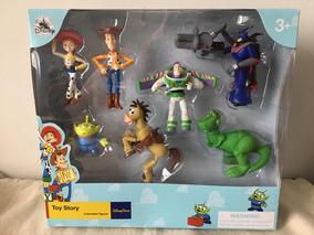 Conjunto Personagens Toy Story Disney Store Original Novo