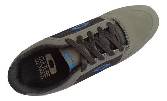 Tênis Oakley Bend Grafite E Azul