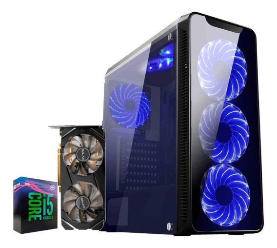 Pc Gamer I5 9600k Rtx 2060 6gb Ram 8gb Hd 1tb Ssd 120gb