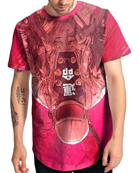 Camiseta Alongada Longline Astronauta Nasa Espaço Planetas